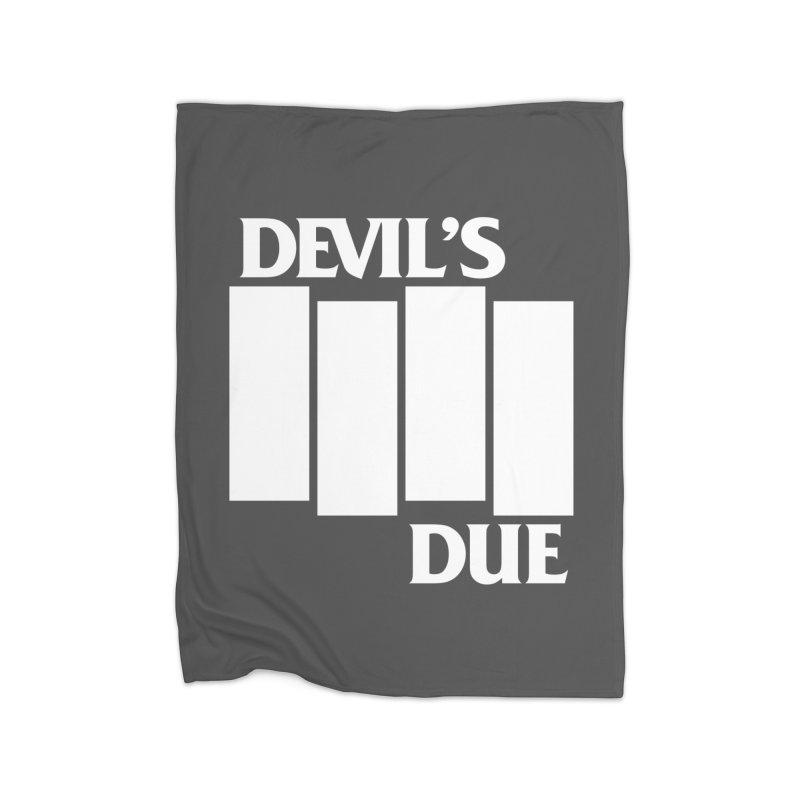 Devil's Due Flag Home Blanket by Devil's Due Entertainment Depot