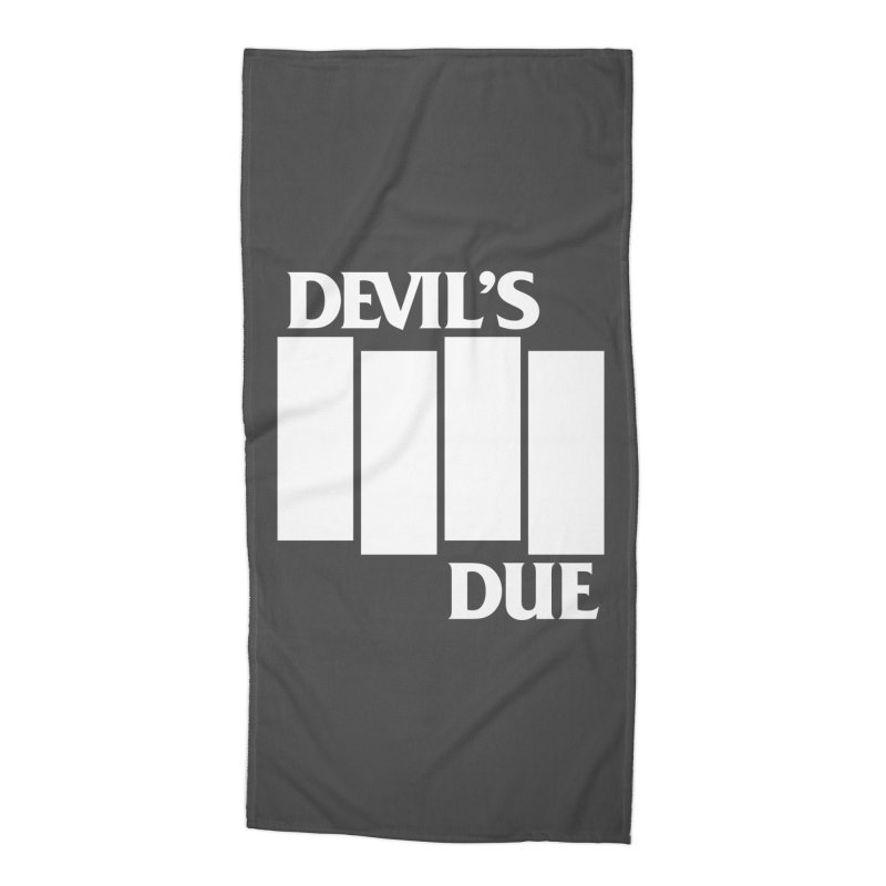 Devil's Due Flag Accessories Beach Towel by Devil's Due Entertainment Depot
