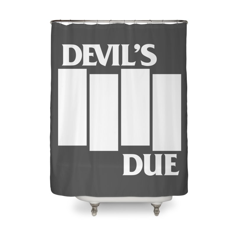 Devil's Due Flag Home Shower Curtain by Devil's Due Entertainment Depot