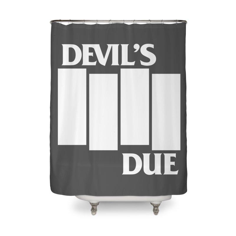 Devil's Due Flag Home Shower Curtain by Devil's Due Entertainment Depot