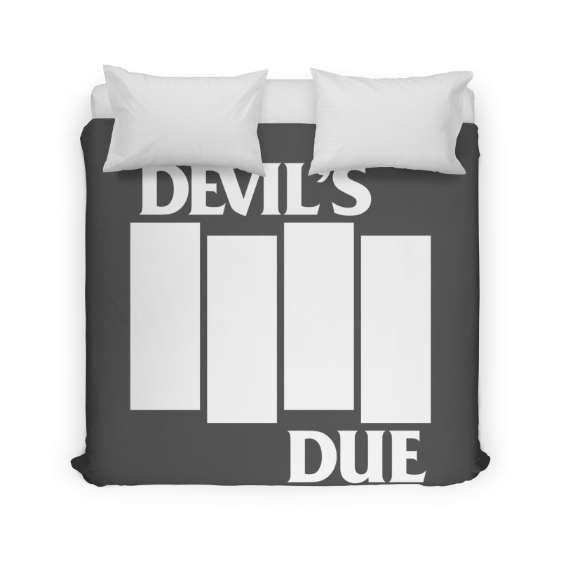 Devil's Due Flag Home Duvet by Devil's Due Entertainment Depot