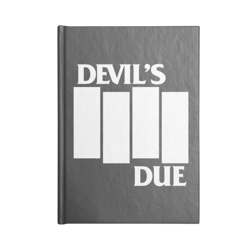Devil's Due Flag Accessories Notebook by Devil's Due Entertainment Depot