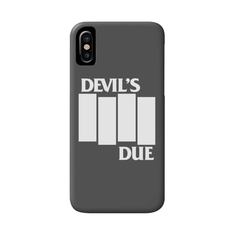 Devil's Due Flag Accessories Phone Case by Devil's Due Entertainment Depot