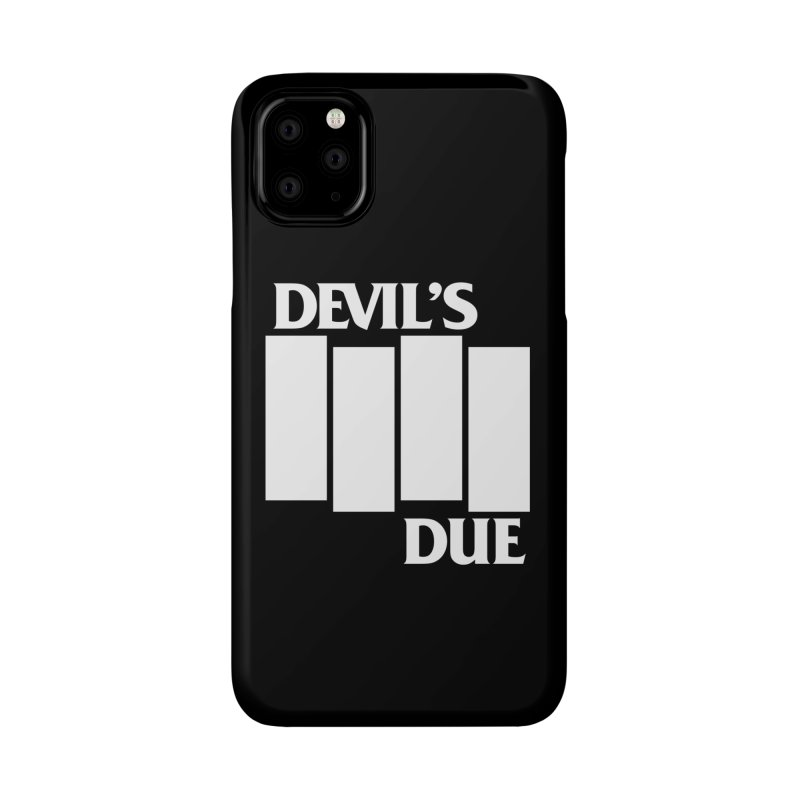 Devil's Due Flag Accessories Phone Case by Devil's Due Comics