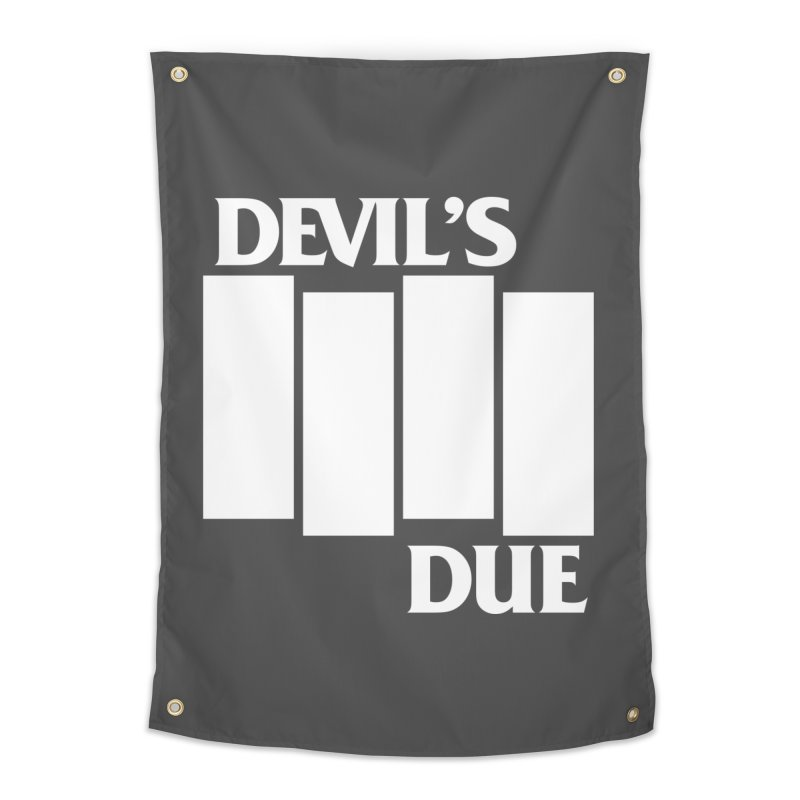 Devil's Due Flag Home Tapestry by Devil's Due Entertainment Depot
