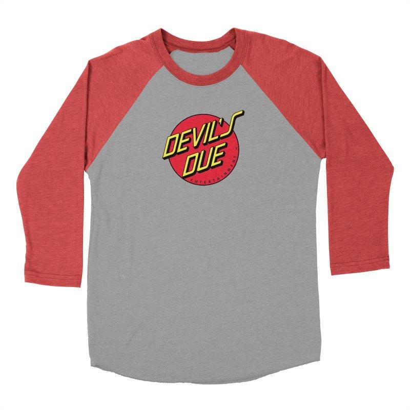 Devil's Due Cruz Women's Baseball Triblend Longsleeve T-Shirt by Devil's Due Comics