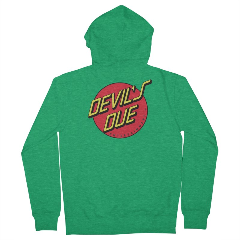 Devil's Due Cruz Women's Zip-Up Hoody by Devil's Due Comics