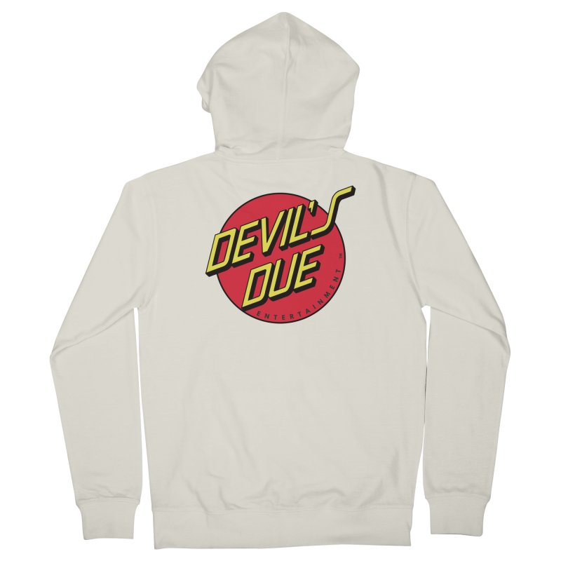 Devil's Due Cruz Men's French Terry Zip-Up Hoody by Devil's Due Comics