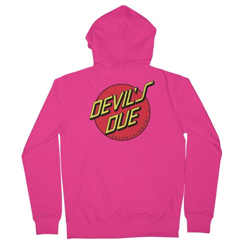 Devil's Due Cruz Men's Zip-Up Hoody by Devil's Due Comics