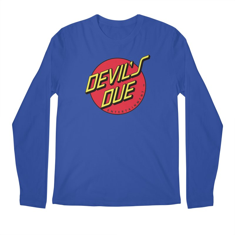 Devil's Due Cruz Men's Regular Longsleeve T-Shirt by Devil's Due Comics