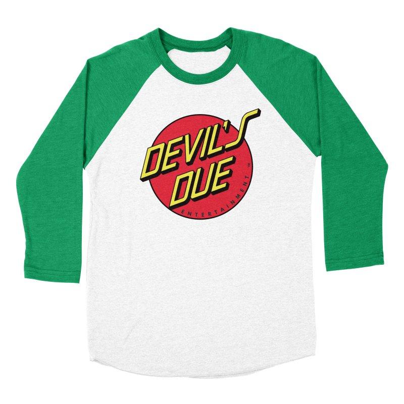 Devil's Due Cruz Women's Baseball Triblend T-Shirt by Devil's Due Entertainment Depot