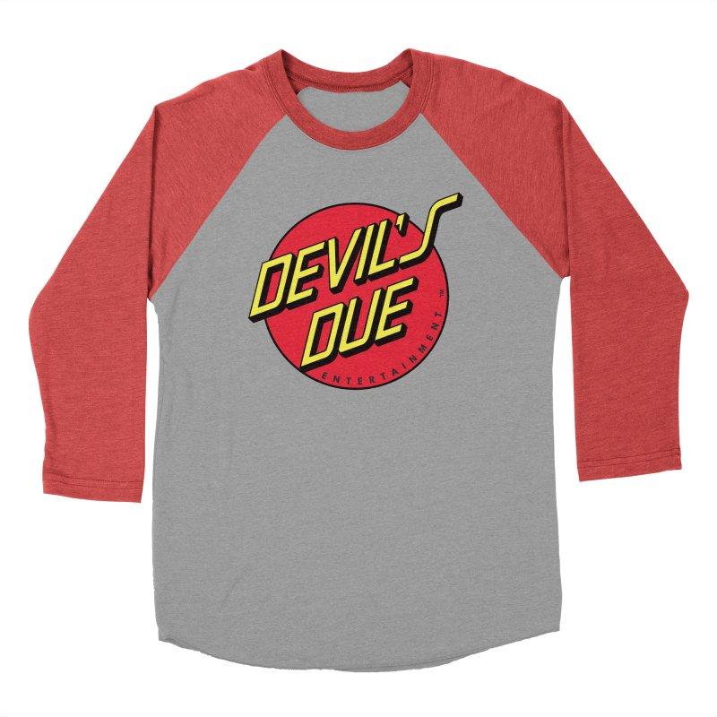 Devil's Due Cruz Women's Baseball Triblend Longsleeve T-Shirt by Devil's Due Entertainment Depot