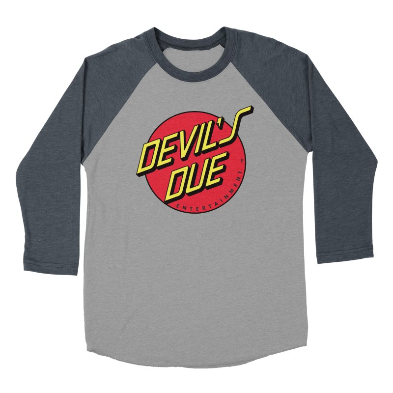 Devil's Due Cruz Women's Baseball Triblend Longsleeve T-Shirt by Devil's Due Comics