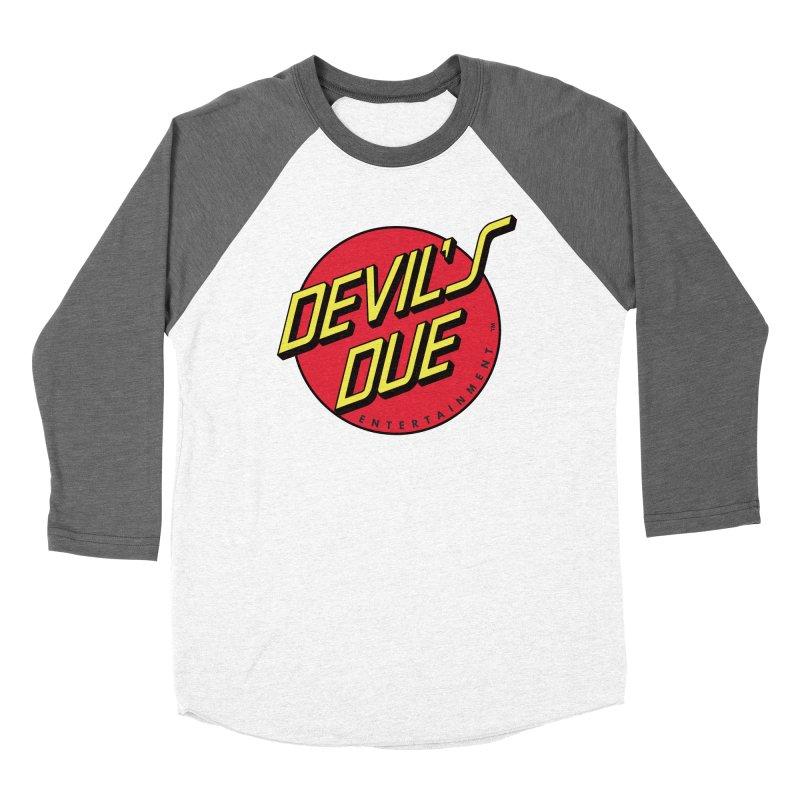 Devil's Due Cruz Men's Baseball Triblend Longsleeve T-Shirt by Devil's Due Comics