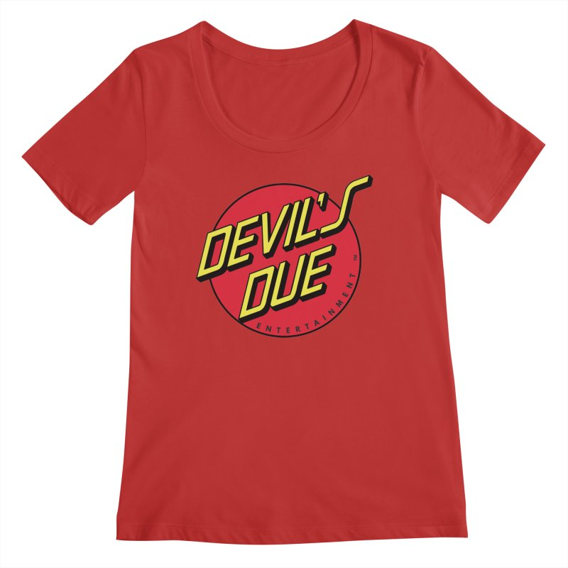 Devil's Due Cruz Women's Regular Scoop Neck by Devil's Due Comics