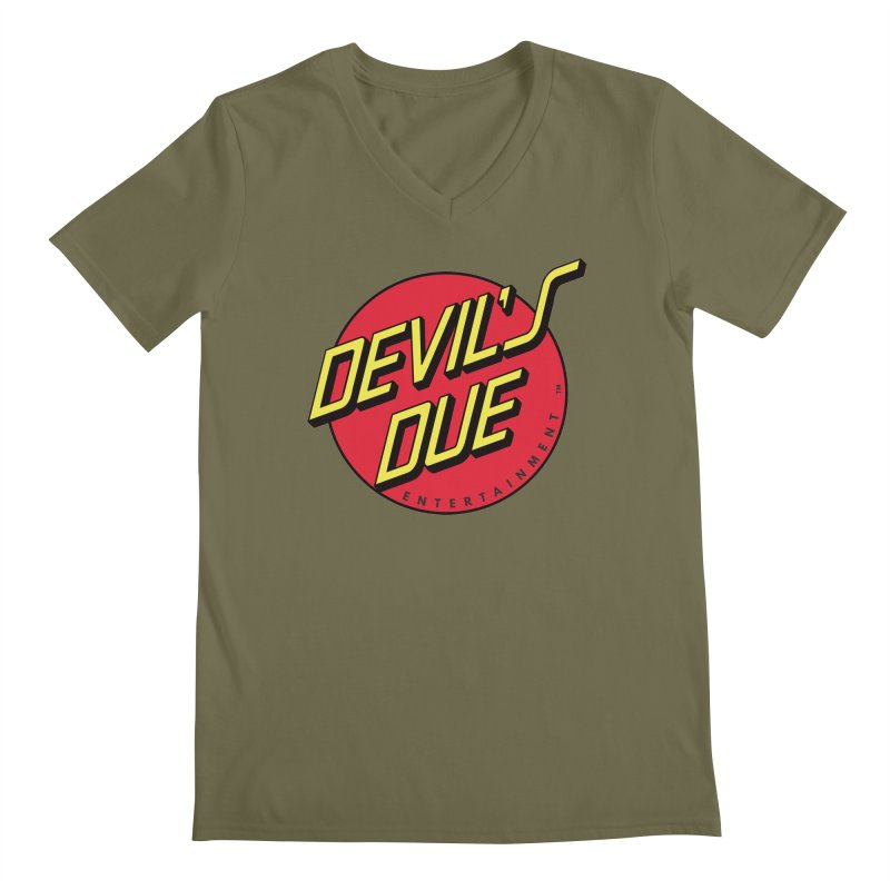Devil's Due Cruz Men's V-Neck by Devil's Due Comics