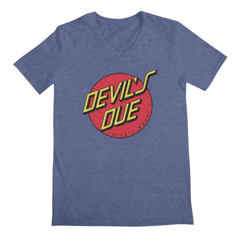 Devil's Due Cruz Men's Regular V-Neck by Devil's Due Comics