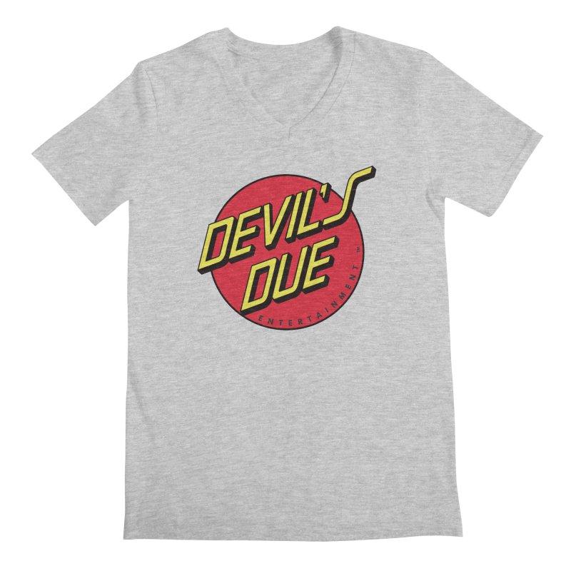 Devil's Due Cruz Men's Regular V-Neck by Devil's Due Comics