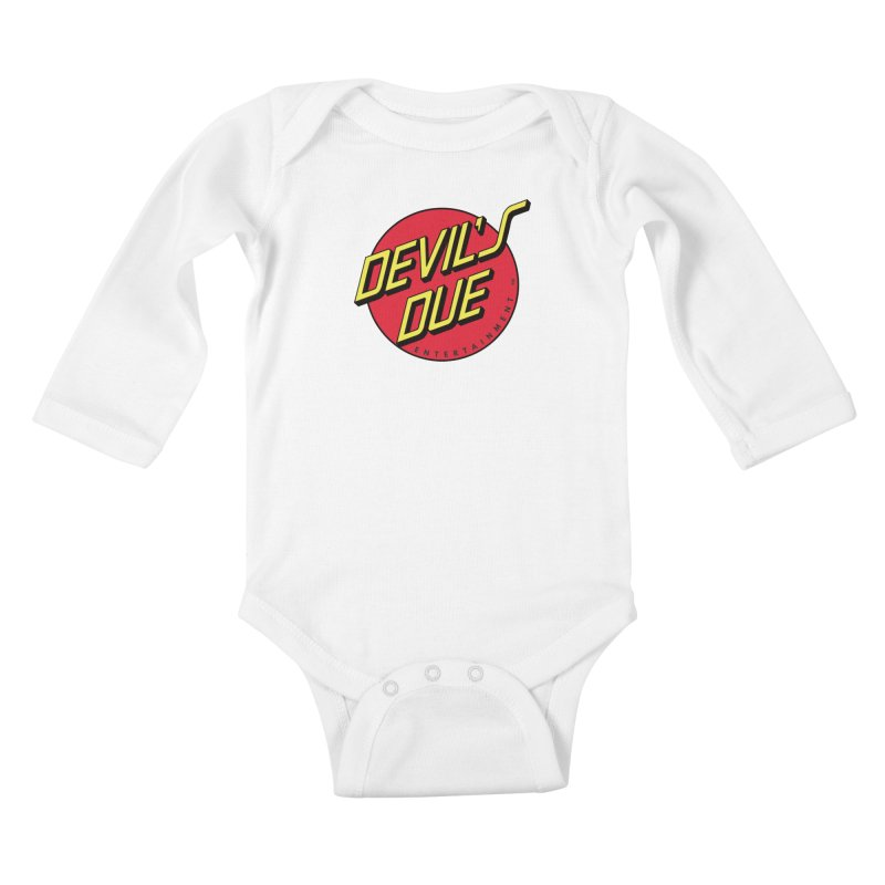 Devil's Due Cruz Kids Baby Longsleeve Bodysuit by Devil's Due Comics