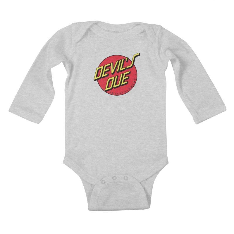 Devil's Due Cruz Kids Baby Longsleeve Bodysuit by Devil's Due Comics