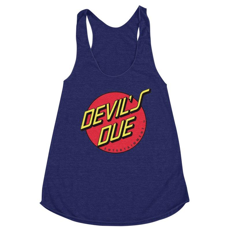 Devil's Due Cruz Women's Racerback Triblend Tank by Devil's Due Comics