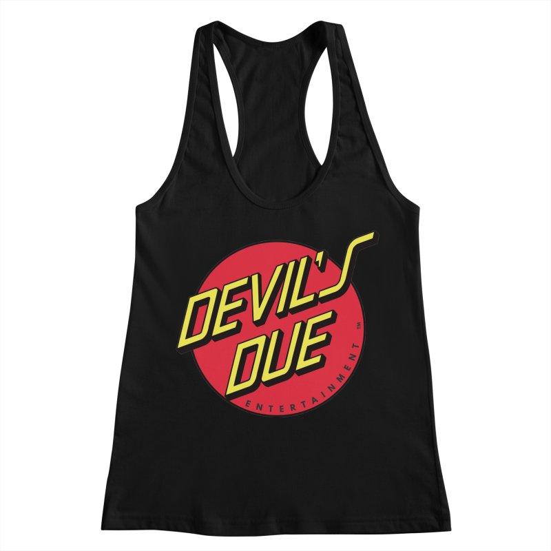 Devil's Due Cruz Women's Racerback Tank by Devil's Due Comics