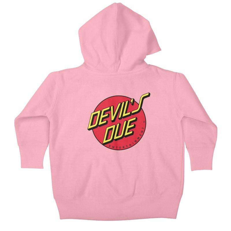 Devil's Due Cruz Kids Baby Zip-Up Hoody by Devil's Due Comics