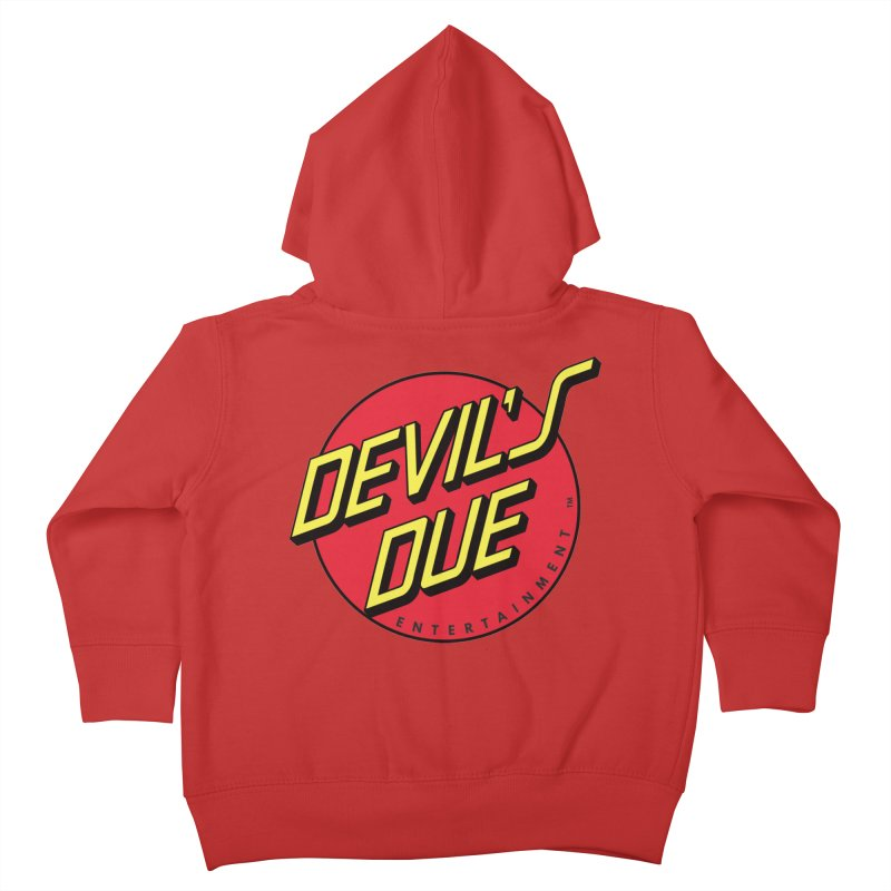 Devil's Due Cruz Kids Toddler Zip-Up Hoody by Devil's Due Comics
