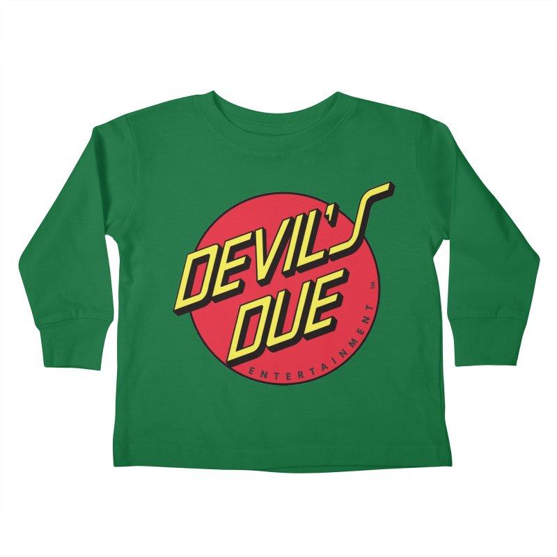 Devil's Due Cruz Kids Toddler Longsleeve T-Shirt by Devil's Due Comics