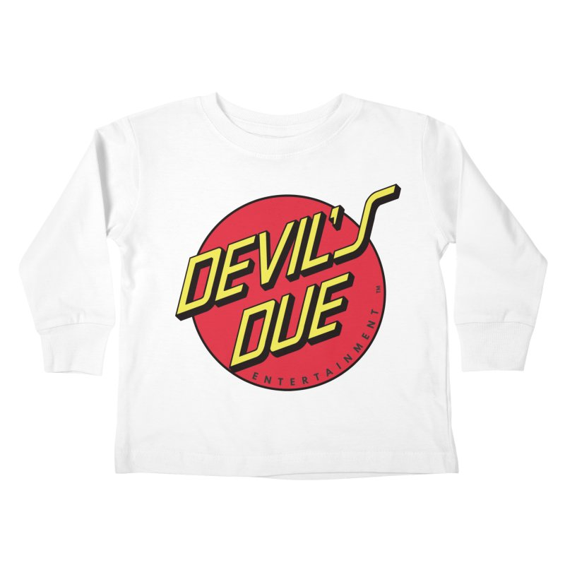 Devil's Due Cruz Kids Toddler Longsleeve T-Shirt by Devil's Due Comics