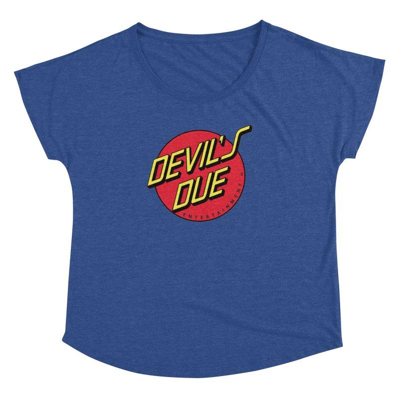 Devil's Due Cruz Women's Dolman Scoop Neck by Devil's Due Comics