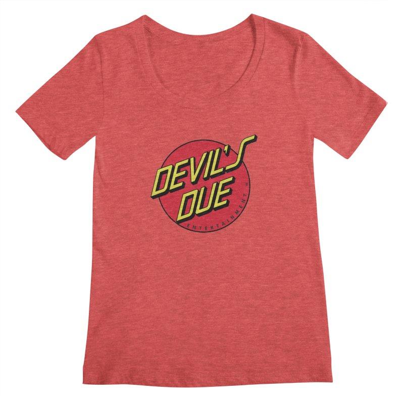 Devil's Due Cruz Women's Scoopneck by Devil's Due Entertainment Depot