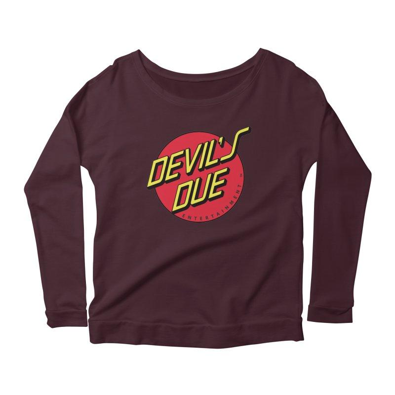 Devil's Due Cruz Women's Longsleeve Scoopneck  by Devil's Due Entertainment Depot