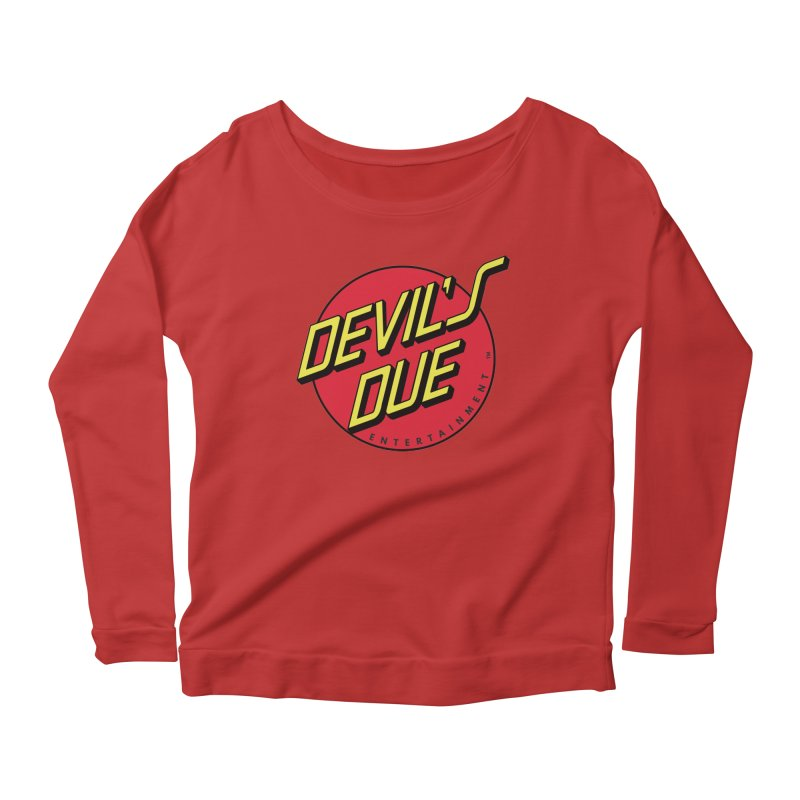Devil's Due Cruz Women's Longsleeve Scoopneck  by Devil's Due Entertainment Depot