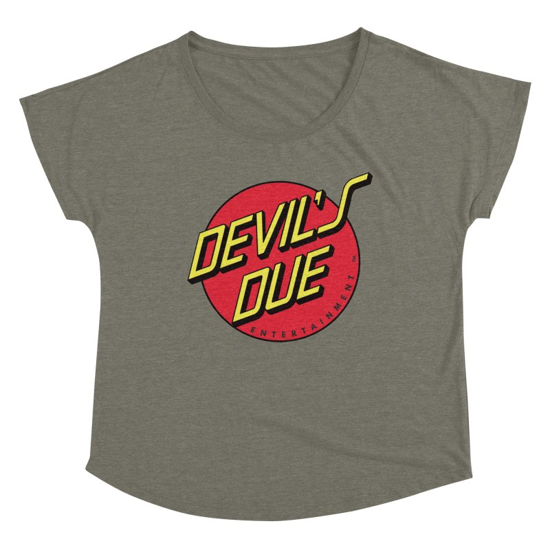 Devil's Due Cruz Women's Dolman Scoop Neck by Devil's Due Comics