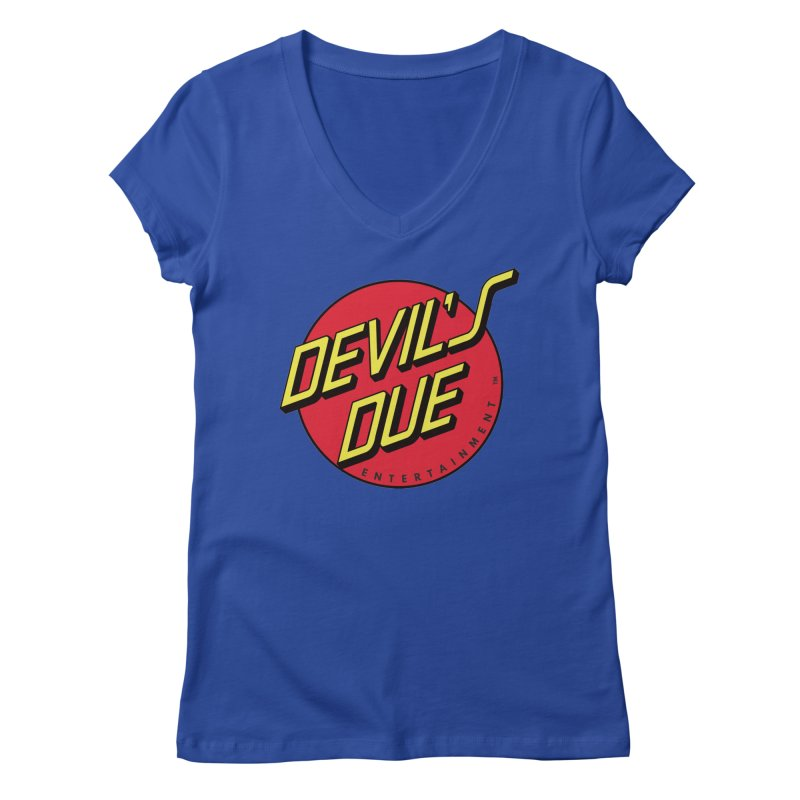 Devil's Due Cruz Women's V-Neck by Devil's Due Entertainment Depot