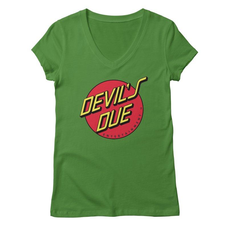 Devil's Due Cruz Women's Regular V-Neck by Devil's Due Comics