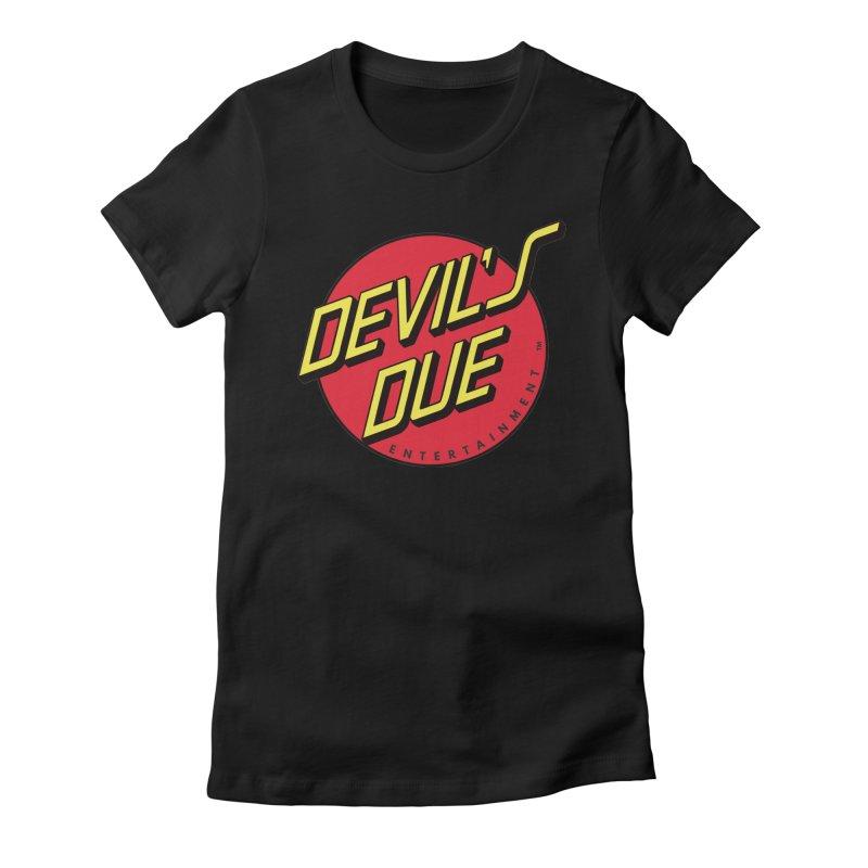 Devil's Due Cruz Women's Fitted T-Shirt by Devil's Due Entertainment Depot