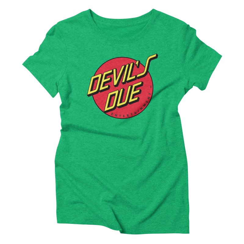 Devil's Due Cruz Women's Triblend T-Shirt by Devil's Due Entertainment Depot
