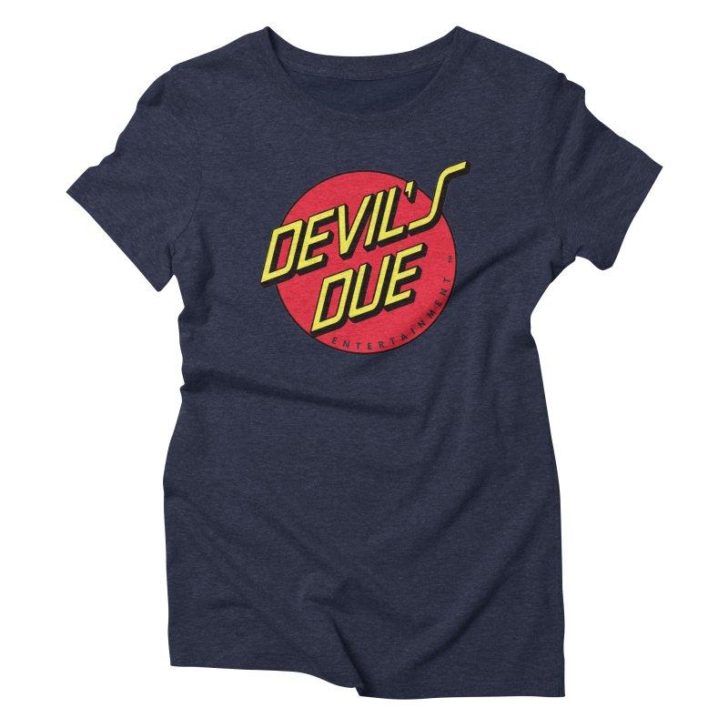 Devil's Due Cruz Women's Triblend T-shirt by Devil's Due Entertainment Depot