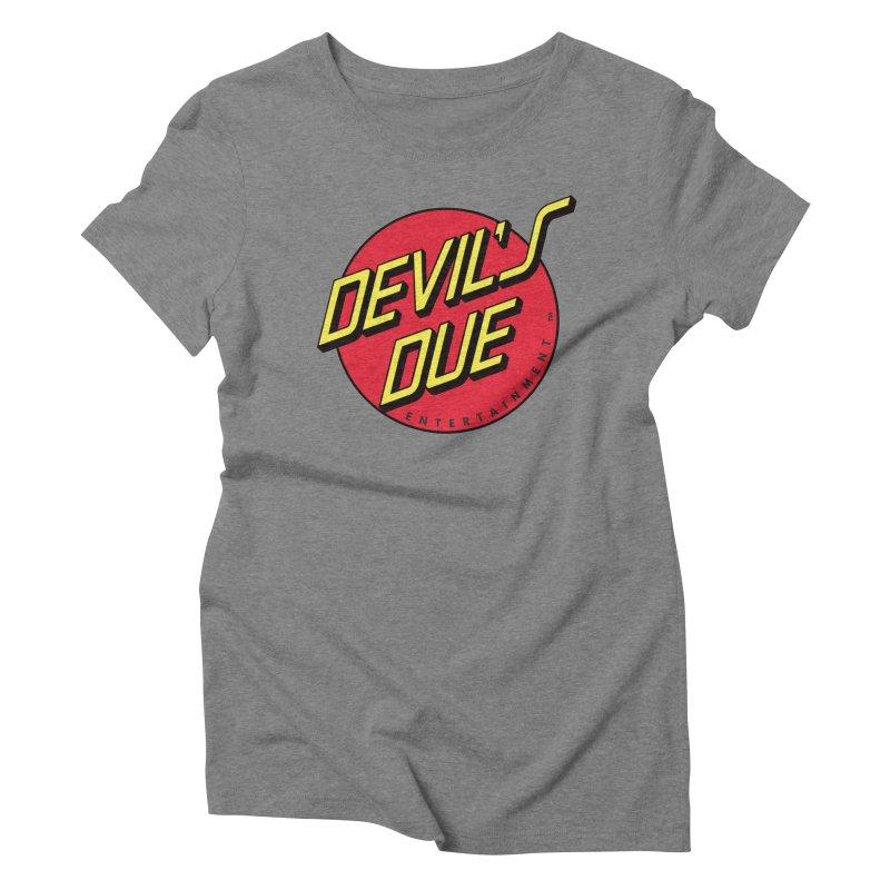 Devil's Due Cruz Women's Triblend T-Shirt by Devil's Due Comics