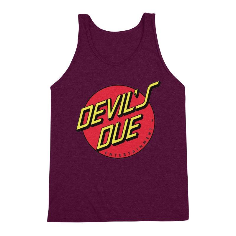 Devil's Due Cruz Men's Triblend Tank by Devil's Due Comics
