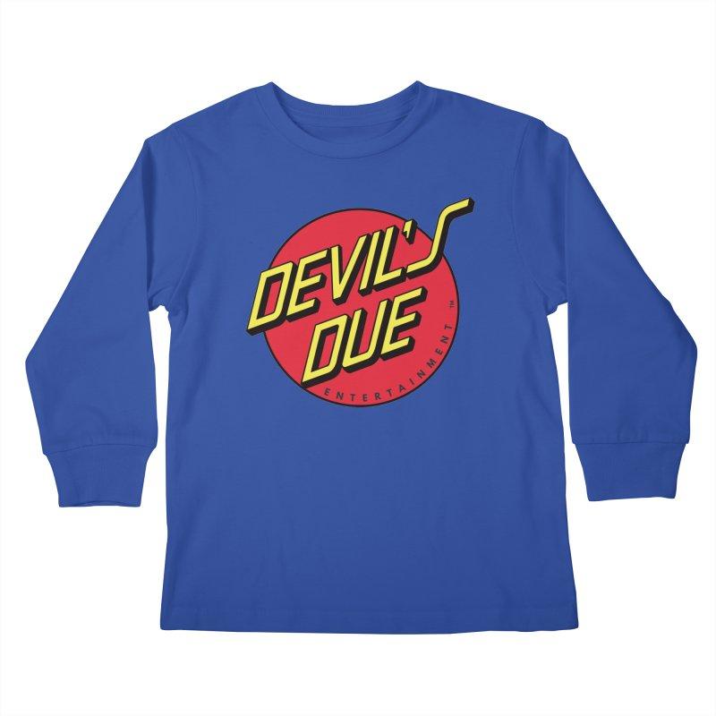 Devil's Due Cruz Kids Longsleeve T-Shirt by Devil's Due Comics