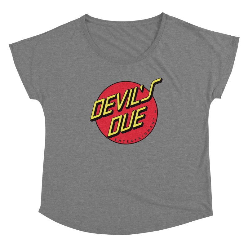 Devil's Due Cruz Women's Scoop Neck by Devil's Due Comics
