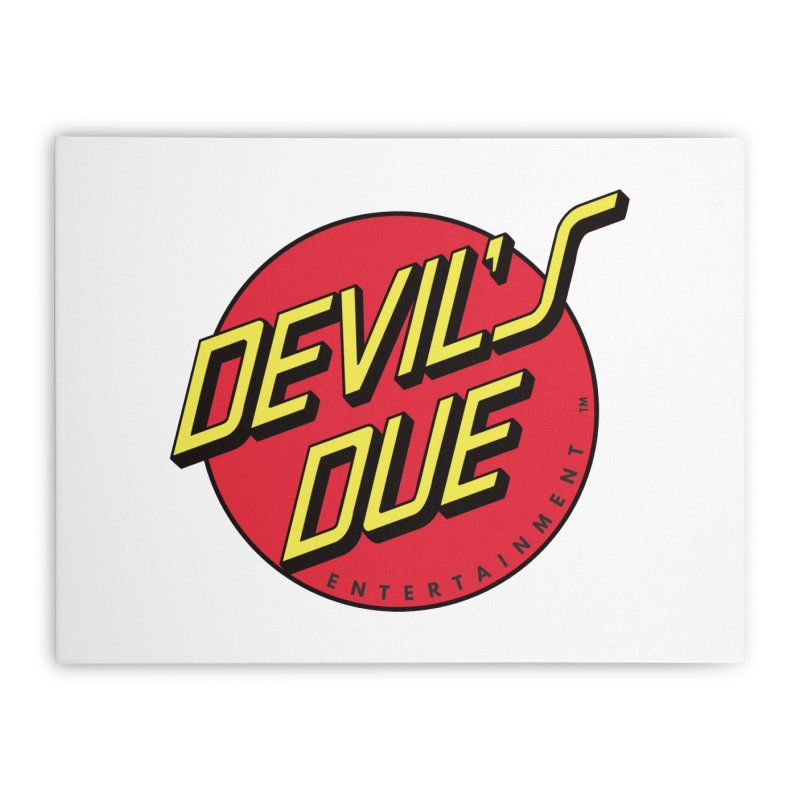 Devil's Due Cruz Home Stretched Canvas by Devil's Due Comics