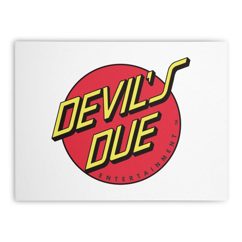 Devil's Due Cruz Home Stretched Canvas by Devil's Due Comics