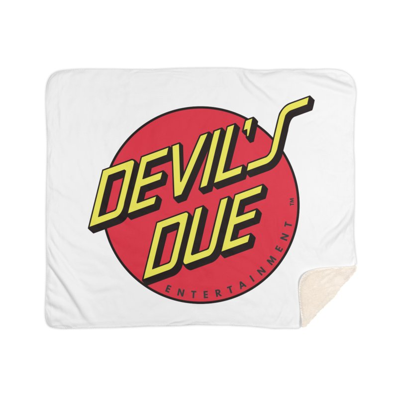 Devil's Due Cruz Home Sherpa Blanket Blanket by Devil's Due Comics