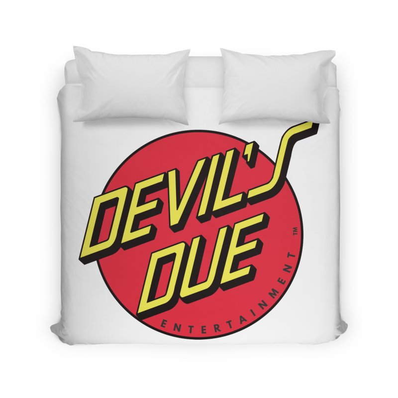Devil's Due Cruz Home Duvet by Devil's Due Comics