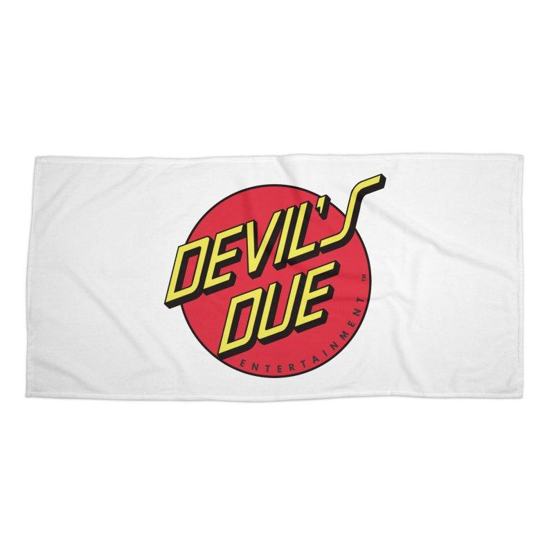 Devil's Due Cruz Accessories Beach Towel by Devil's Due Entertainment Depot
