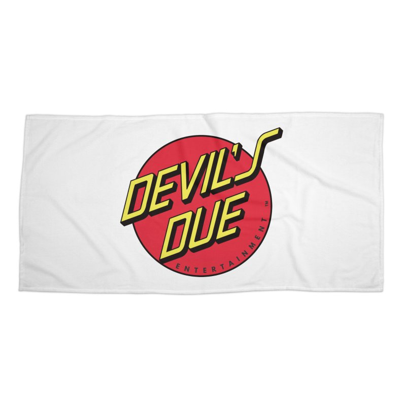 Devil's Due Cruz Accessories Beach Towel by Devil's Due Entertainment Depot